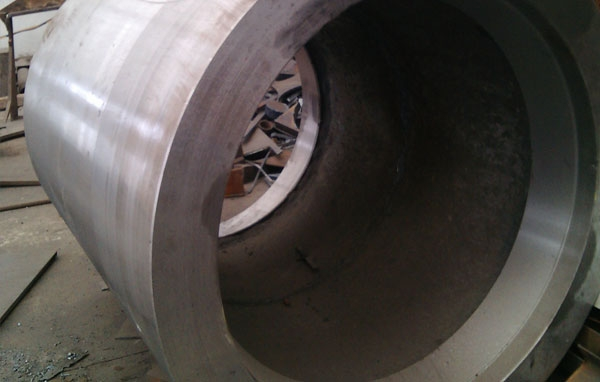 高锰钢破碎机辊筒